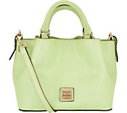 As Is Dooney & Bourke Saffiano Leather Mini Barlow Crossbdy - A299274