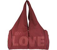 Peace Love World East West Duffle Bag - A305174