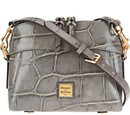 As Is Dooney & Bourke Croco Leather Cameron Crossbody - A310574