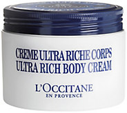 LOccitane Ultra Rich Shea Body Cream, 7 oz - A314374