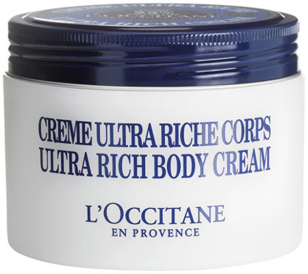 LOccitane Ultra Rich Shea Body Cream, 7 oz —