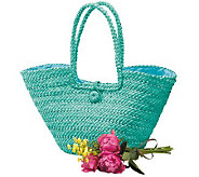 San Diego Hat Co. Woven Market Bag - A316674