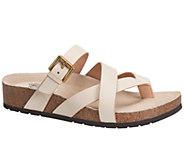 Sofft Brooke Leather Thong Slide Sandals - A333274