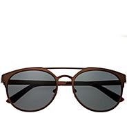 Breed Mensa Brown Titanium Sunglasses w/ Polarized Lenses - A361274