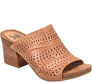 Sofft Leather Slide Sandals - Magnolia - A364674