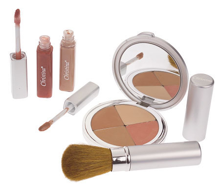 Perfect Pigment 4-pc. Compact Concealer and Lip Gloss Kit w/DVD