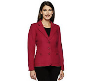 Linea by Louis DellOlio Blazer with Seaming & Button Detail - A229475