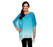 Edge by Jen Rade Dip Dye Tunic with Shell Set - A253975