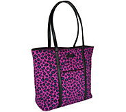 As Is Vera Bradley Signature Print Trimmed Tote - A263175