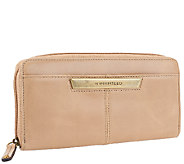 Tignanello Distressed Leather Zip Around Wallet - A264175