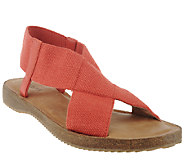 Adam Tucker Stretch Criss Cross Strap Sandals - Amora - A264775