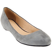 As Is H by Halston Suede Slip-on Flats - Alice - A278675