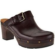 Clarks Artisan Block Heel Clogs - Ledella York - A281475