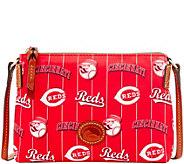 Dooney & Bourke MLB Nylon Reds Crossbody Pouchette - A281575