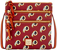 Dooney & Bourke NFL Redskins Triple Zip Crossbody - A285675