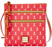 As Is Dooney & Bourke MLB Angles Triple Zip Crossbody - A288675