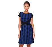 As Is SA by Seth Aaron Petite Knit Striped Dress - A290975