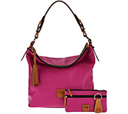 As Is Dooney & Bourke Smooth Leather Hobo - A294475