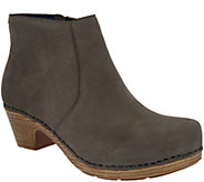Dansko Nubuck Leather Ankle Boots - Maria - A296875