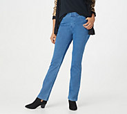 Belle by Kim Gravel Flexibelle Embellished Jeans - Petite - A298975