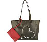 ED Ellen DeGeneres Lyon Tote with Messaging - A300575