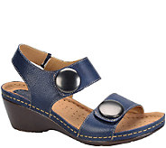 Softspots Leather Wedge Sandals - Pamela - A335975