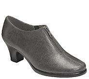 Aerosoles Heel Rest Booties w/ Zipper - E Mail - A337875