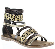 Azura by Spring Step Leather Gladiator Sandals- Tunisia - A339275