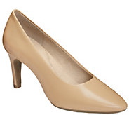 Aerosoles Heel Rest Leather Pumps - Exquisite - A340375