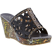 Spring Step LArtiste Wedge Slide Sandals - Zoe - A340775