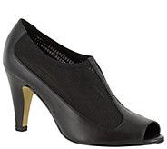Bella Vita Leather Peep-toe Pumps - Ninette - A341275