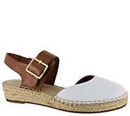 Bella Vita Leather Espadrille Sandals - Caralynn - A363375