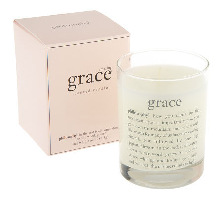 philosophy amazing grace scented candle 10 oz.