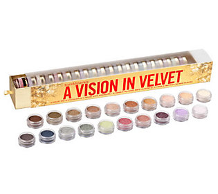 bareMinerals Vision in Velvet 20-pc Eyecolor Collection