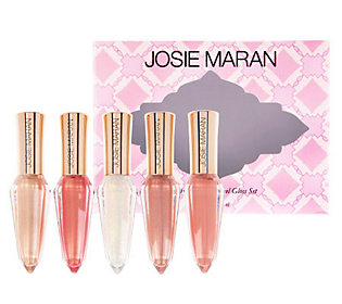 Josie Maran Holiday Argan Oil Crystal Lip Cream Set