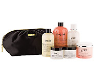 philosophy beautiful you 6-piece collection with travel bag - A257776