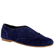 Sole Society Suede Oxfords - Elena - A258076