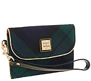 Dooney & Bourke Tartan Medium Wristlet Clutch - A259276