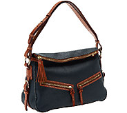 Dooney & Bourke Pebble Leather E/W Zip Sac Hobo - A259376