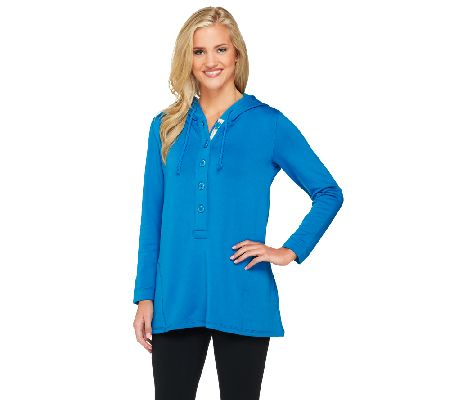 Susan Graver Weekend Brushed Back Knit Pullover - A261276