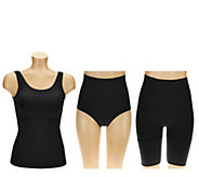 Legacy Shapewear Wardrobe with Cami, Long Short & Brief - A265776