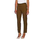 Isaac Mizrahi Live! Regular 24/7 Stretch Ankle Pants - A266876