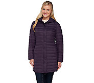 Liz Claiborne New York Packable Puffer Coat - A269076