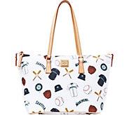 Dooney & Bourke MLB Mariners Zip Top Shopper - A280076