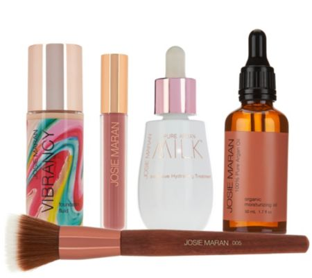 Josie Maran Vibrant Milky Skin Argan 5 pc. Kit Auto-Delivery