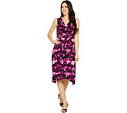 Kelly by Clinton Kelly Sleeveless Dress with Braided Waist - A290676