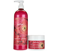 WEN by Chaz Dean Pink Jasmine Peony Hair and Body Duo - A295076