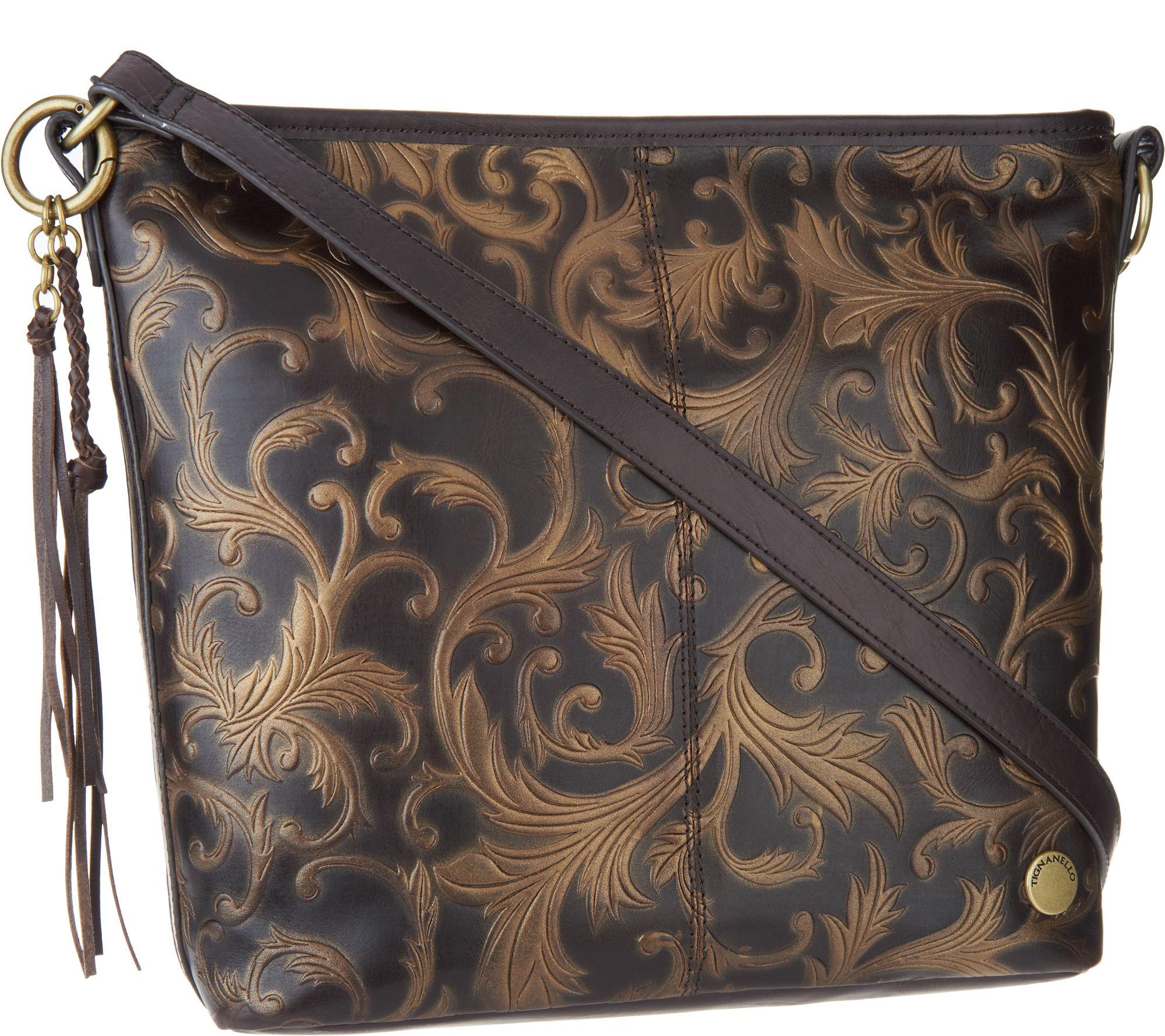 Leather Hobo Convertible Crossbody