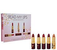 Wander Beauty Read My Lips 6-piece Lipstick Set - A301276