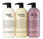 philosophy favorites super-size shower gel trio - A304576